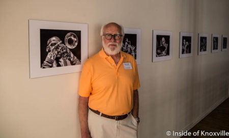 Daniel Taylor Jazz Photo Exhibit, Emporium, Knoxville, July 2016