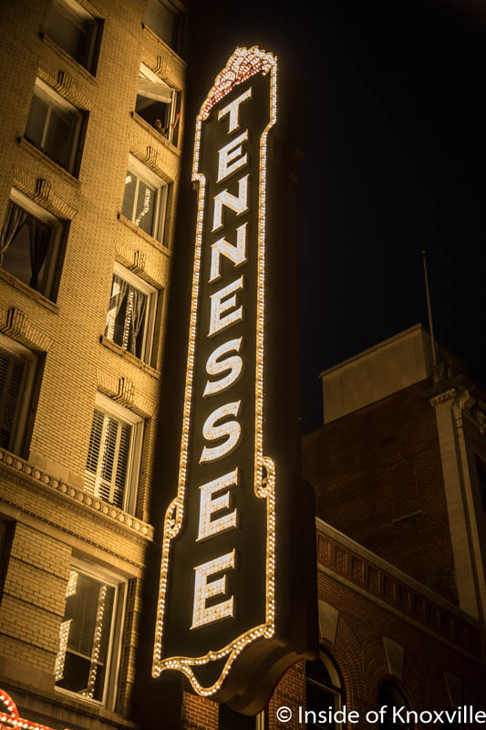 The Historic Tennessee Theatre Relights Its Marquee and Signature Blade Sign