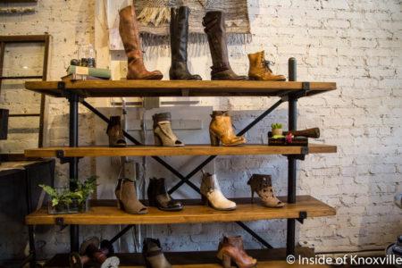 Tori Mason Shoes, 29 Market Square, Knoxville, July 2016