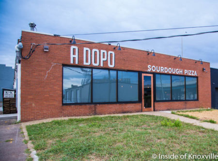 A Dopo Pizzeria, 516 Williams St., Knoxville, September 2016