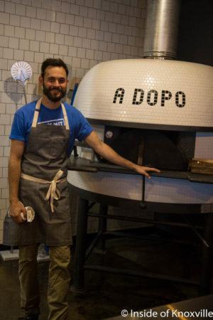Brian Strutz, A Dopo Pizzeria, 516 Williams St., Knoxville, September 2016
