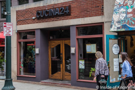 Cucina 24, Asheville, September 2016