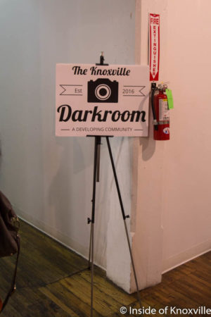 Darkroom Exhibit at the Emporium, First Friday, Knoxville, September 2016