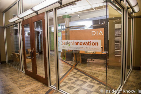 Design Innovation Architects, 402 Gay Street, Suite 201, Knoxville, September 2016