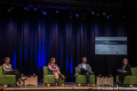 Mayor Rogero leads a Panel, Mayor's Summit on Entrepreneurship, The Mill and Mine, Knoxville, September 2016
