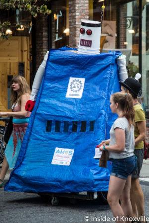 Open Streets, Asheville, September 2016