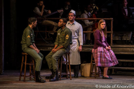 """Production of """"Violet,"""" Clarence Brown Theatre, Knoxville, August 2016"""