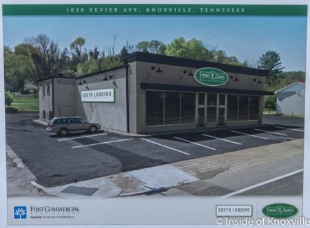 Rendering of Uncle Lem's Mercantile and Outdoor and South Landing CrossFit, 1020 Sevier Avenue, Knoxville, September 2016