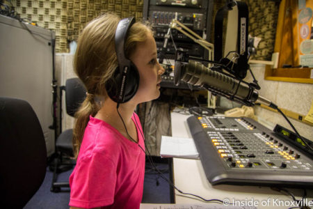 Urban Girl on the Radio, WUTK, Knoxville, September 2016
