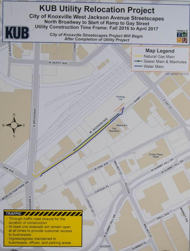 Jackson Avenue Streetscape Details and Schedule, Plus Viaduct Reconstructions
