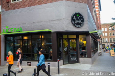 Juice Bar, 2 Market Square, Knoxville, October 2016