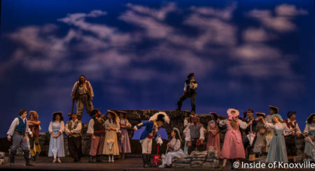 Knoxville Opera, The Pirates of Pnezance, Tennessee Theatre, Knoxville, October 2016