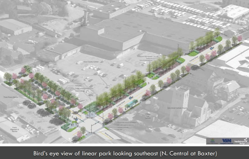 Final Phase of the Central Street Project is Underway