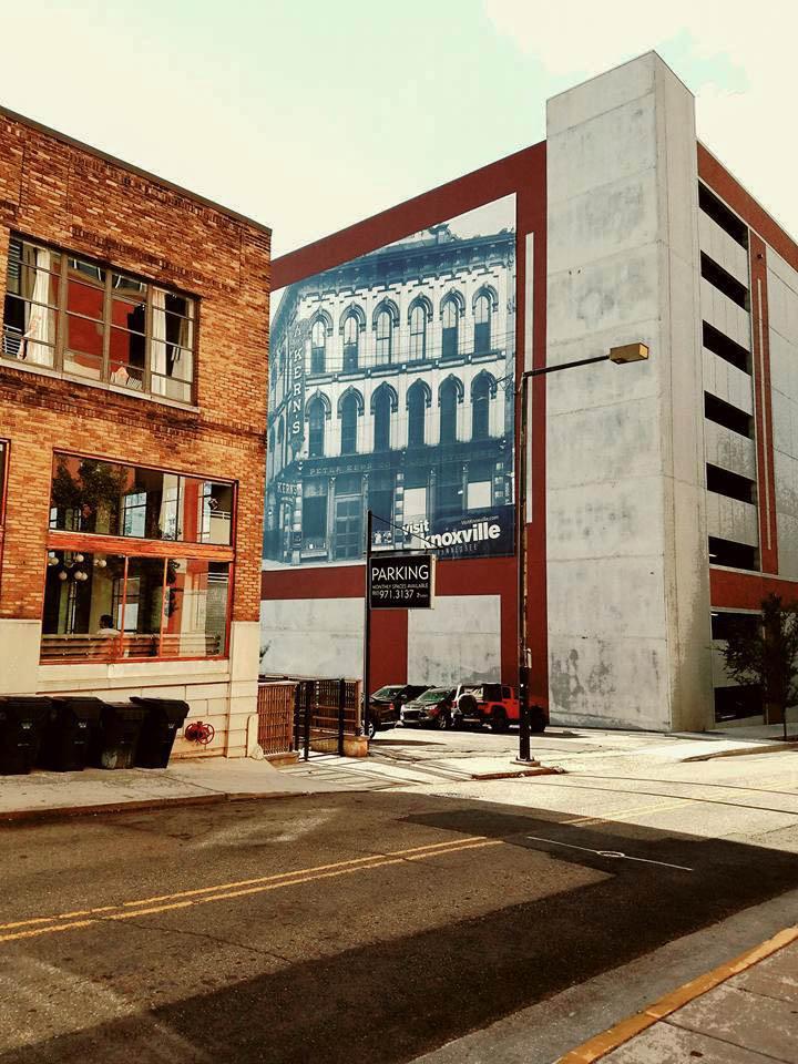 those wonderful murals inside of knoxville. Black Bedroom Furniture Sets. Home Design Ideas