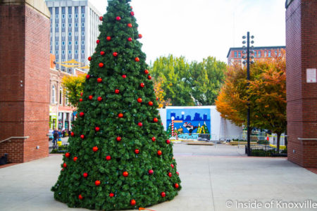 Christmas in the City, Knoxville, November 2016