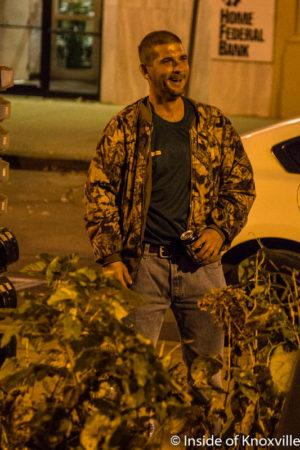 Drunken Heckler, Krutch Park, Knoxville, November 2016