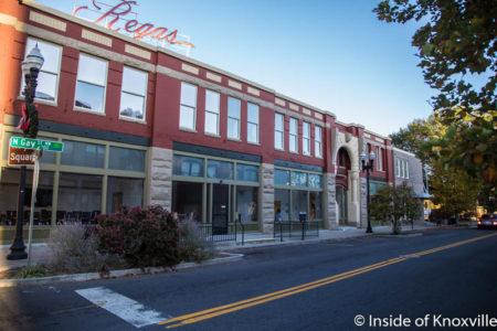 Regas Building, Corner of Gay and Magnolia, Knoxville, November 2016