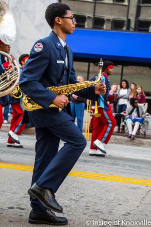 Veterans Day Parade, Knoxville, November 2016