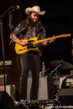 Will Carter, WDVX Ho Ho Hoedown, Market Square, Knoxville, November 2016