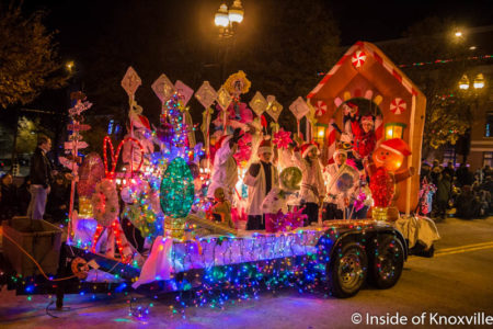 Christmas Parade, Knoxville, December 2016