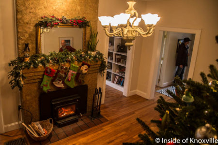 Old North Knoxville's Victorian Home Tour, 1311 Kenyon St., Knoxville, December 2016