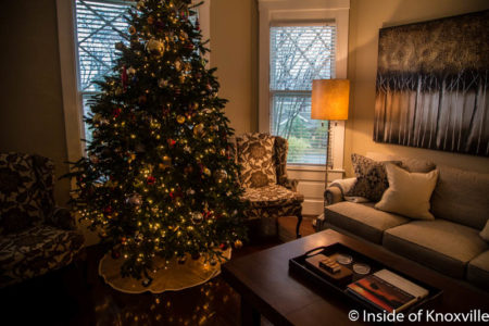 Old North Knoxville's Victorian Home Tour, 1325 Armstrong, Knoxville, December 2016