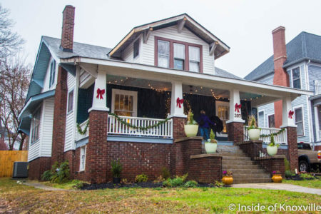 Old North Knoxville's Victorian Home Tour, 207 E. Oklahoma Ave., Knoxville, December 2016