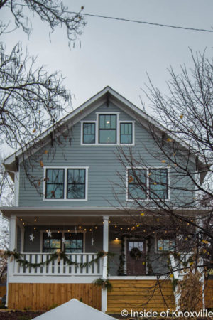 Old North Knoxville's Victorian Home Tour, 227 E. Anderson, Knoxville, December 2016