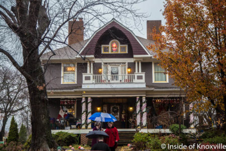 Old North Knoxville's Victorian Home Tour, 229 E. Scott Ave., Knoxville, December 2016