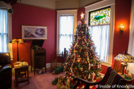 Old North Knoxville's Victorian Home Tour, 510 E. Scott, Knoxville, December 2016