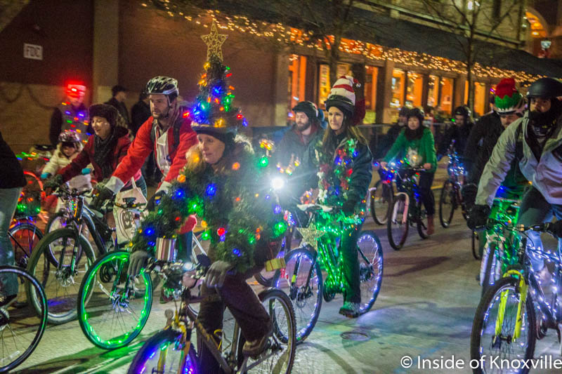 Downtown Knoxville Hosts 2016 Tour de Lights