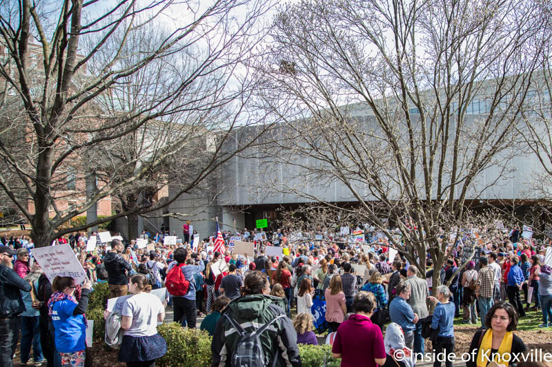 Protests and Unrest Continue Nationally and in Knoxville