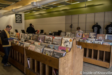 Magnolia Records Opens Downtown Inside Of Knoxville