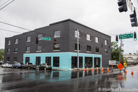 Electric Company Lofts, Corner of Willow and McCalla, Knoxville, August, 2017