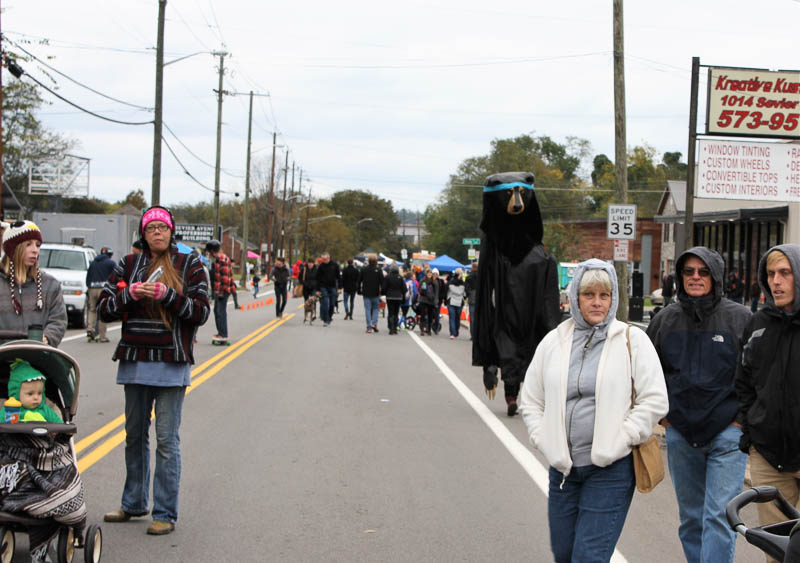Despite Cold, Knoxville Open Streets Celebrates SoKno