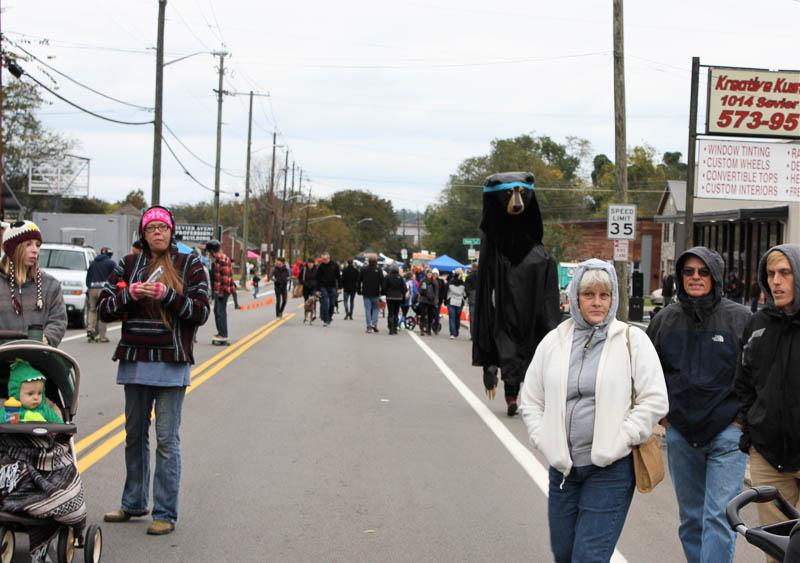 Despite Cold, Knoxville Open Streets Celebrates SoKno