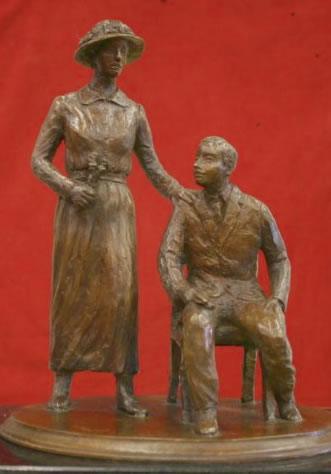 Local Group Pushes for Memorial Statue to Febb and Harry Burn