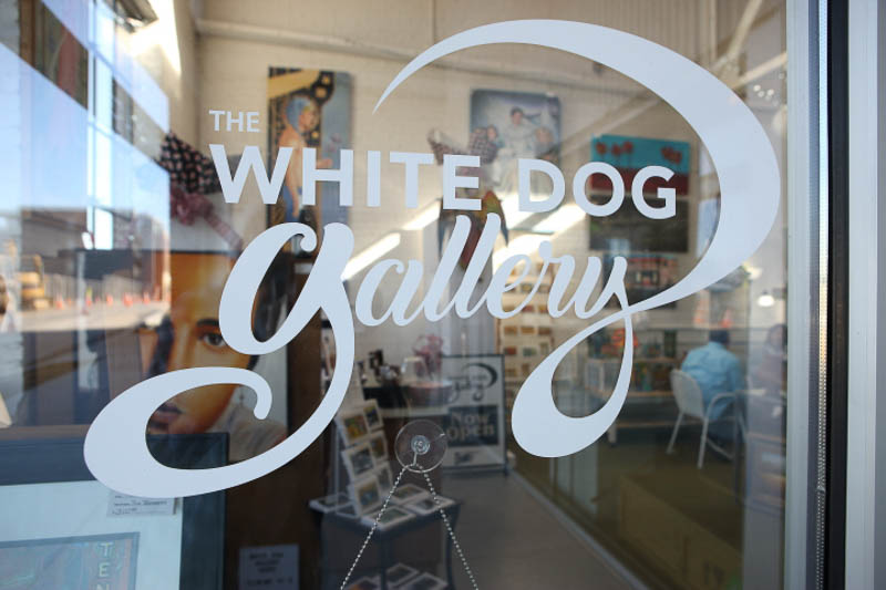 New Downtown Business: Sniffing Up Surprises at The White Dog Gallery
