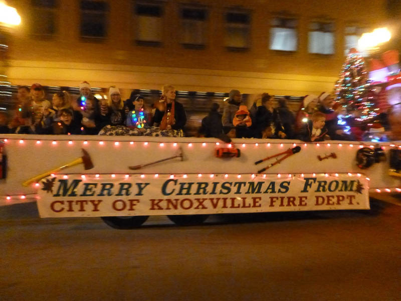 Knoxville Christmas Parade 2017