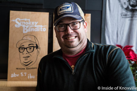 Is there a resemblance?, Jeffrey Dealejandro, Pretentious Glass, Knoxville, January 2018