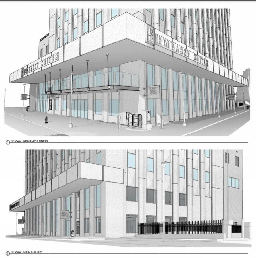 Embassy Suite Details – And Three Favorite Local Businesses to Join Them at the Location