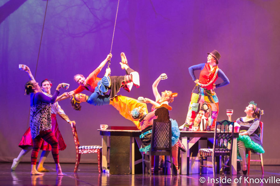 Go! Contemporary Dance Works' Alice A Visual Feast