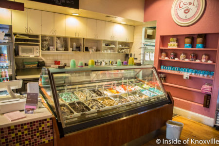 Coolato Gelato, 524 South Gay Street, Knoxville, February 2018