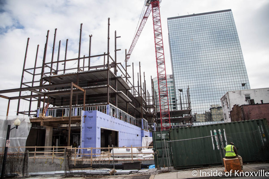 Construction Photos and Updates: Tombras, Marriott Courtyard and Residence Inn, Crozier and Stockyard Lofts