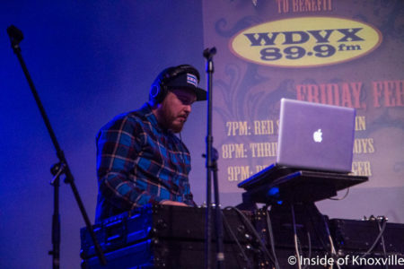 DJ Wigs, Waynestock 2018, Relix Theater, Knoxville, February 2018