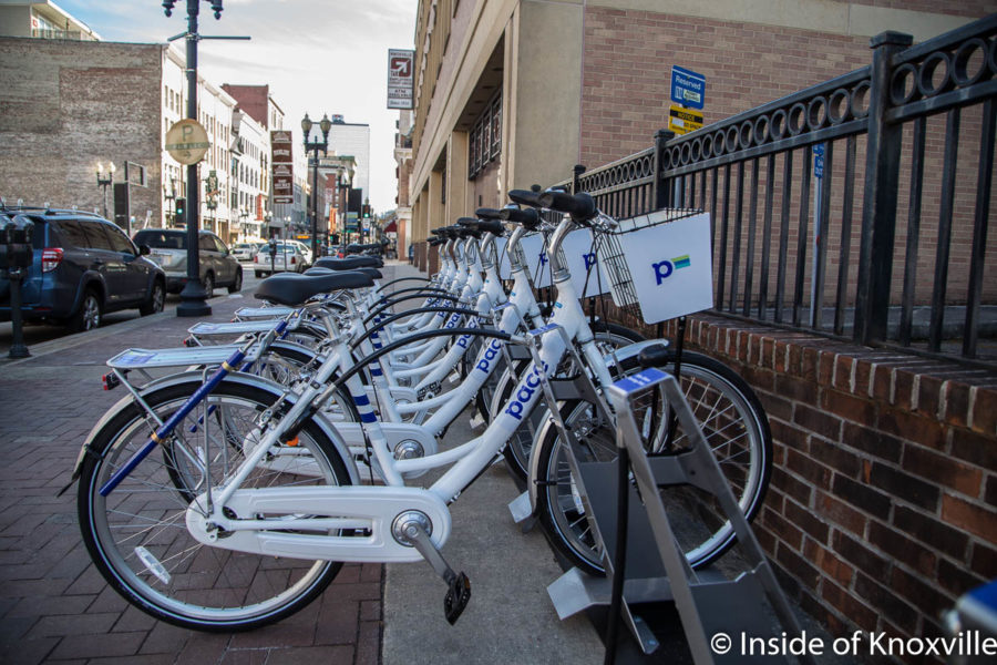 Pace Bike Share Debuts in Knoxville!