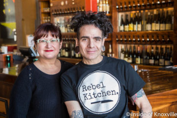 Paul and Franchesca Sellas, Rebel Kitchen, Knoxville, January 2018