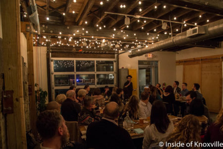 Rebel Kitchen Pop Up Dinner with Chef Paul Sellas, Central Collective, Knoxville, January 2018