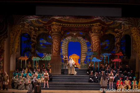 Turandot, Knoxville Opera, Civic Auditorium, Knoxville, February 2018