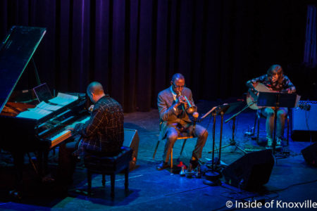 Bangs (Jason Moran, Mary Halvorson, Ron Miles), Big Ears, The Standard, Knoxville, March 2018